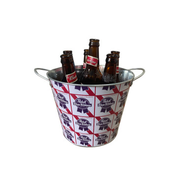 handmade beautiful colorful wine bucket with low price