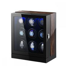 Muiti-Rotor Watch Winder Macassar + Black