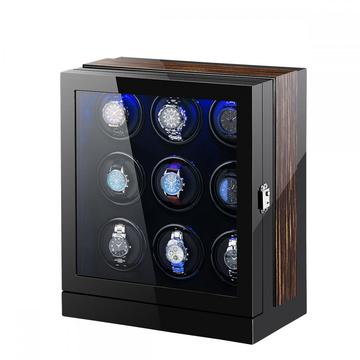 Macassar Watch Winder Box With LED