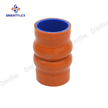 High temperature universal silicone double hump hose