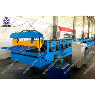 IBR colored roofing sheet roll forming machine