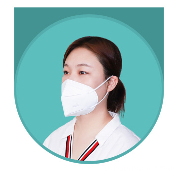Meltblown Cloth Disposable KN95 Protective Face Mask