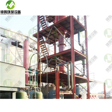 Running Waste Motor Oil Refining For Diesel Fuel