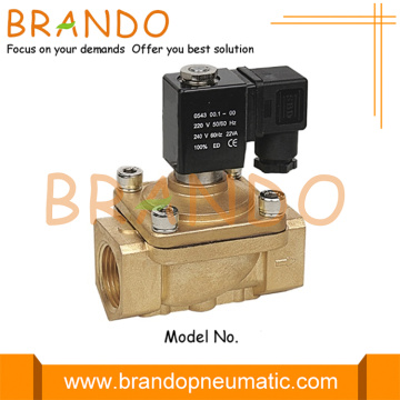 PU220 Series 2 Way Brass Electric Water Valve