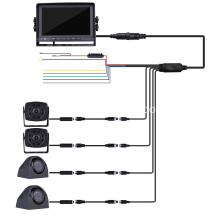 HD Quad View Backup Monitor