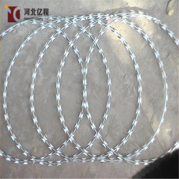 galvanized price razor blade barbed wire fence sale