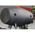 UHP Diameter 350mm Graphite Electrodes With Nipples
