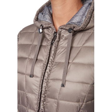 Women Ultra Light Down Duck Hooded Jacket
