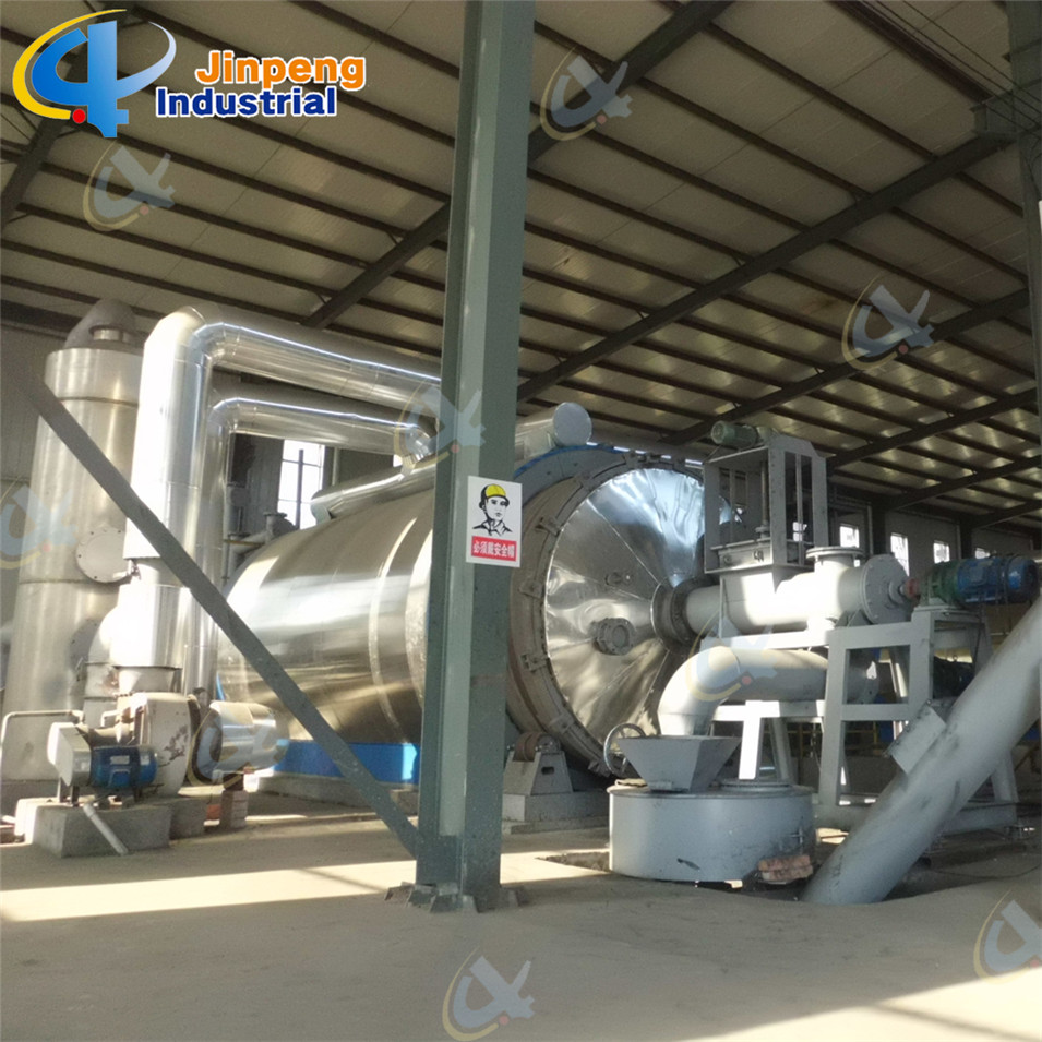 High Oil Output Solid Waste Management