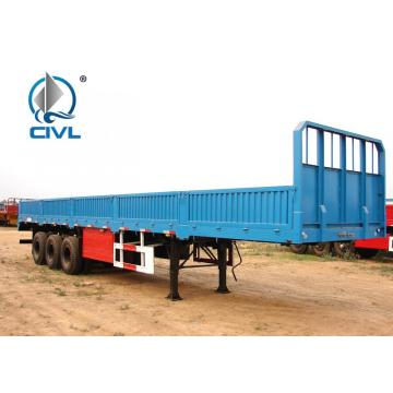 Three Axles sidewall Semi Trailer Trucks
