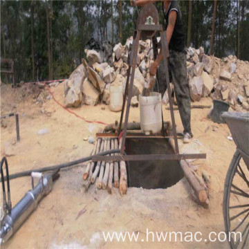 rock and concrete hydraulic mining splitter machine