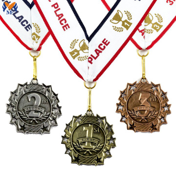 High quality custom medals no minimum