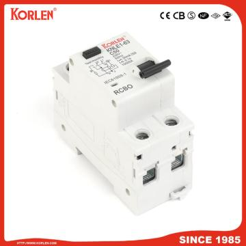 Residual Current Circuit Breaker RCBO KNLE1-63 CE 3P