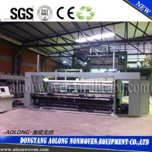 Nonwoven making machine