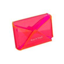 Acrylic Business Card Holder Envelope Shaped