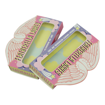 Full Color Printing Cosmetic Lash Packaging Paper Box