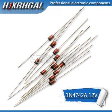 100PCS 1W 12V 1N4742A 1N4742 DO-41 Zener diode