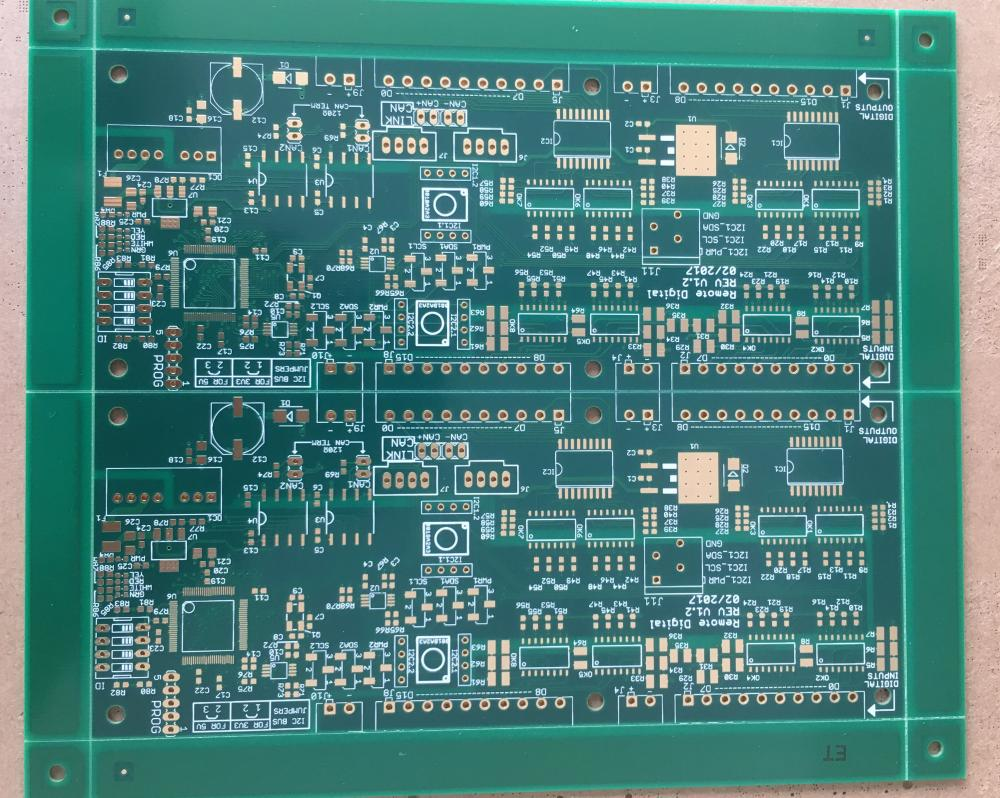 6 layer PCB with 3.5mil trace