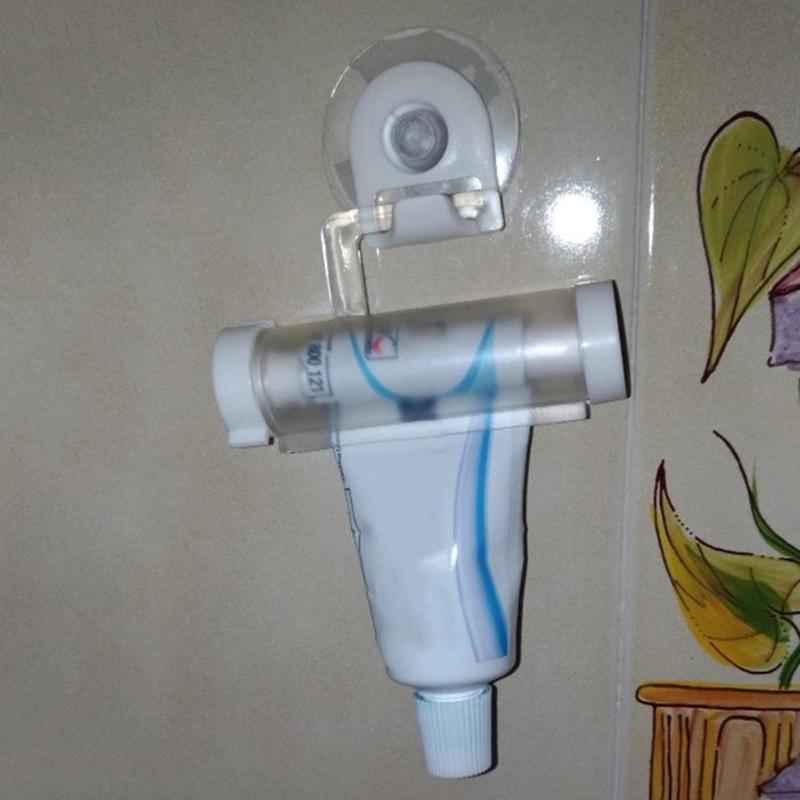 Rolling Squeezer Toothpaste Dispenser Tube Sucker Holder Dental Cream Bathroom Accessories Manual Syringe Gun Dispenser