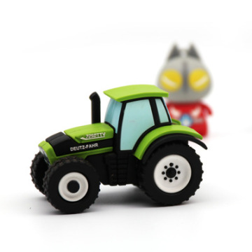 Tracktors Truck Car PVC USB Flash Drive