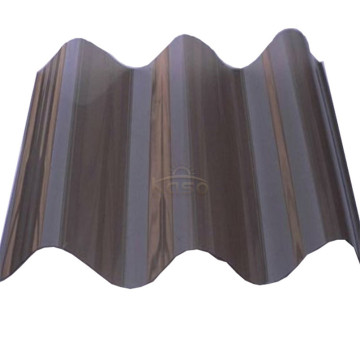 Transparent Roofing Polycarbonate Corrugated Sheet