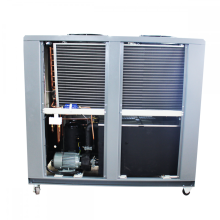 Industrial air cooled water chiller plastic container