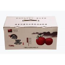Fresh red Fuji gift box.