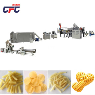 corn bugles processing production line