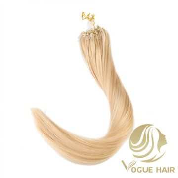 Cheap single drawn micro loop hair extensions