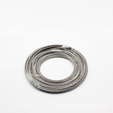 AISI 316 Stainless Steel Wire Rope 7X7 8mm
