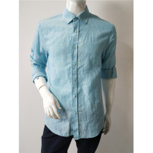 Linen Man Long Sleeve Shirt
