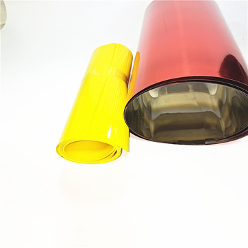 Rigid Golden Plastic Roll Sheet