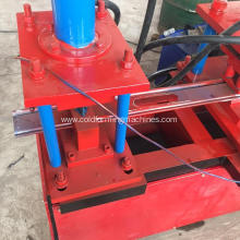 rolling shutter step steel door roll forming machine