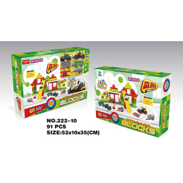 Yuming building blocks 91PCS