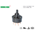 Round Black Rotary Switch Long Life