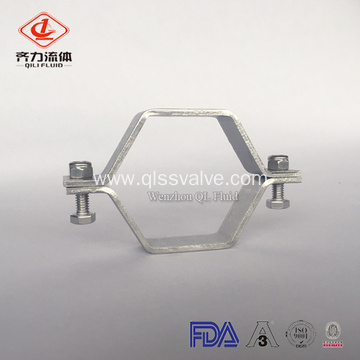 Valve And Fittings  Sanitary Pipe Holder Clamp