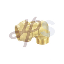 Brass compression 90 male elbow fitting