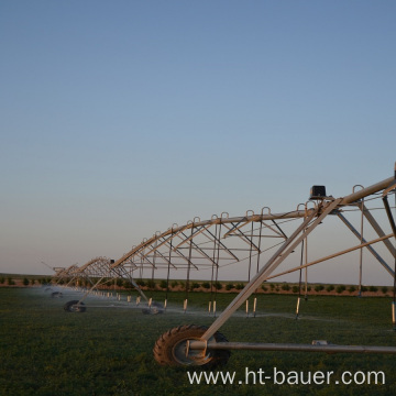 power saving center pivot irrigation system