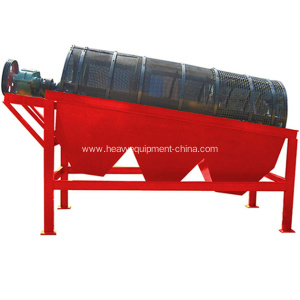 Dry and Wet Screening Equipment Rotary Screener Price