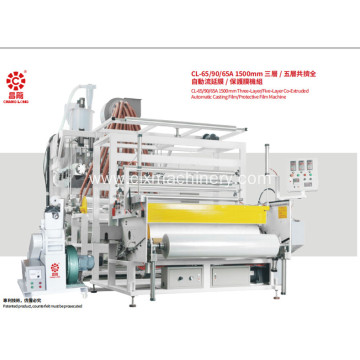 1.5m LLDPE Stretch Film Machinery Production