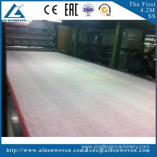High speed AL-4200 SS 4200mm pp spunbond nonwoven machine for wholesales