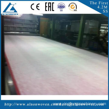 High quality AL-4200 SS 4200mm pp non woven fabric making machine with CE certificate