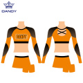 Kids Mesh Competition Cheer Outfits