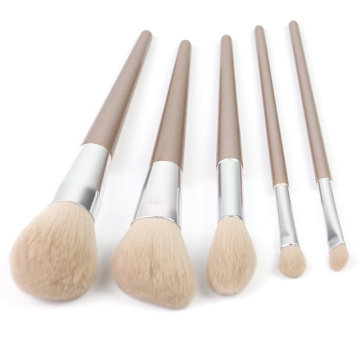 5 set Nyaste makeupborste set rosguld