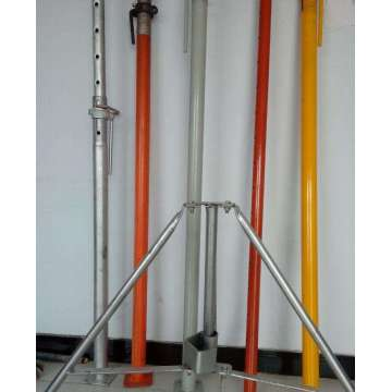 electro galvanized adjustment prop