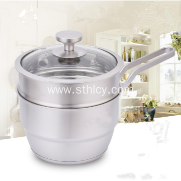 High Quality Stainless Steel Milk Pot With Lid