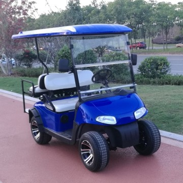 6 seater gasoline power golf cart