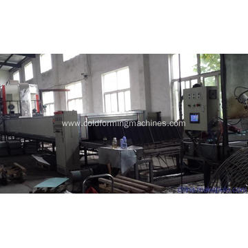 Color stone coated metal sheet equipment