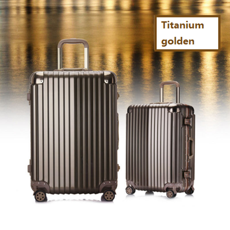 Tianium Golden Luggage