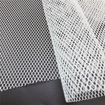 40D Hexagonal stiff hard net fabric for deocoration